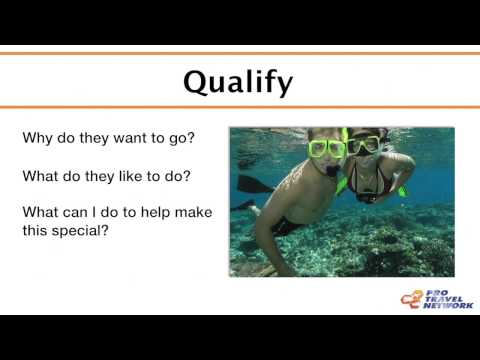 The Sales Process - Pro Travel Network ITA Training