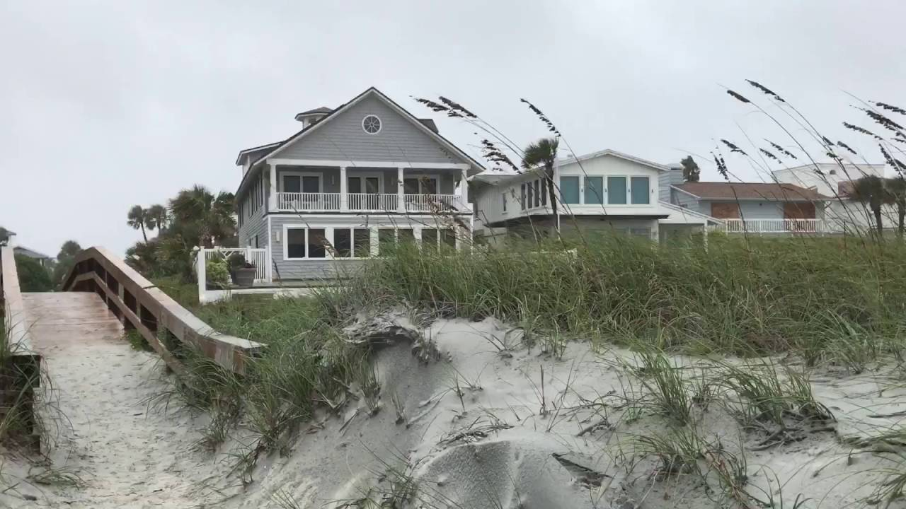 Jacksonville Beach Fl And Hurricane Matthew
