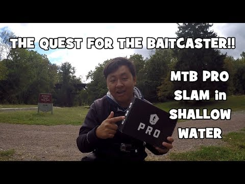 The QUEST to UNLOCK the BAITCASTER?! MTB PRO BOX Slam in SHALLOW WATER (Yardley, PA)