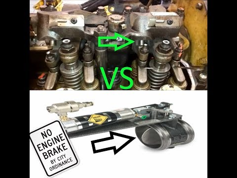 The Difference Between Jake Brakes And Exhaust Brakes?