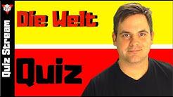 Welt Quiz | Allgemeinwissen-Quiz von Quiz Stream Deutsch
