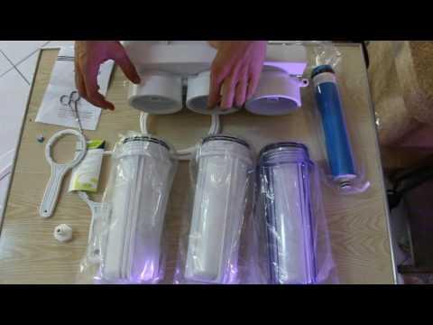 Unboxing #4 : L'osmoseur ( Comment Monter Son Osmoseur Et Le Faire Fonctionner )