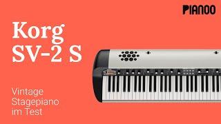 Korg SV-2S 88 - Vintage Stage Piano im Test