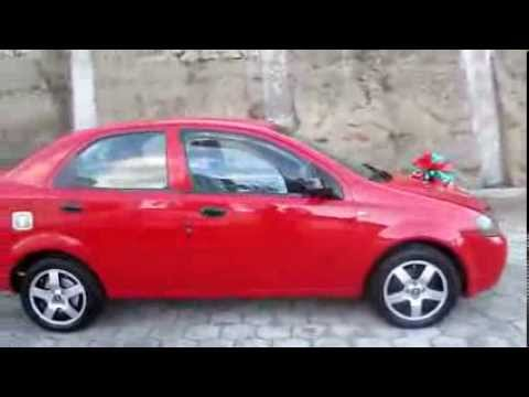 Vendo Aveo Rojo 2008 M Y D Vehiculos Youtube