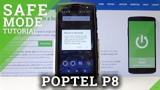 How to Open & Close Safe Mode in POPTEL P8 - Active Safe Mode