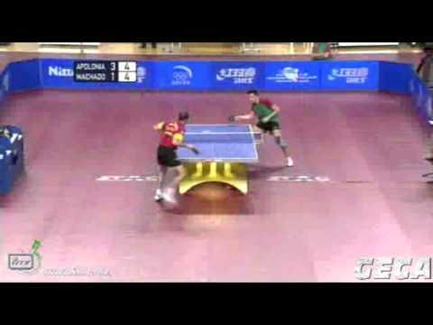 Tiago Apolonia vs Carlos Machado[Final World Olympic Qualification Tournament 2012]