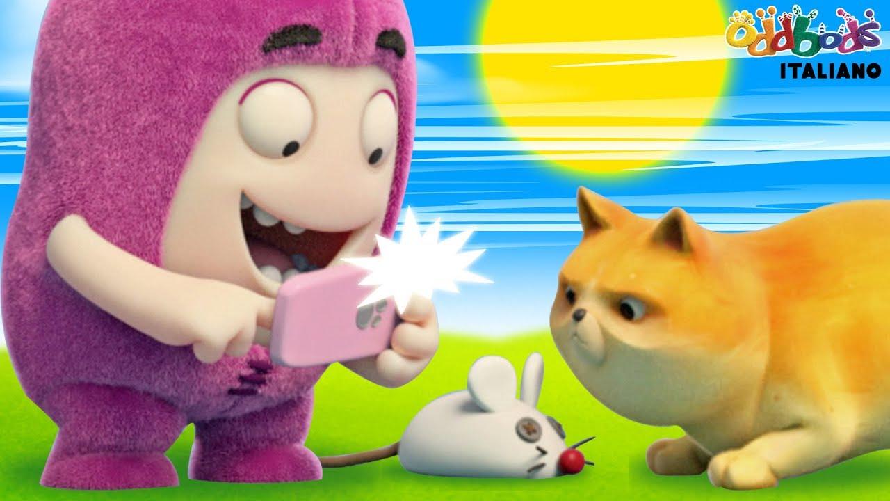 Oddbods l animale più bello cartoni animati divertenti per
