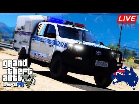 Gta 5 Lspdfr Australia Live New Nswpf Toyota Hilux Paddy Wagon
