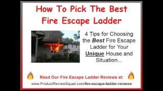 How To Pick The Best Fire Escape Ladder | Emergency Escape Ladder Tips