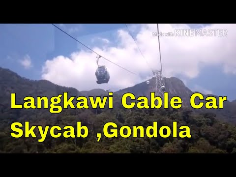 Langkawi cable car|skycab|Malaysia