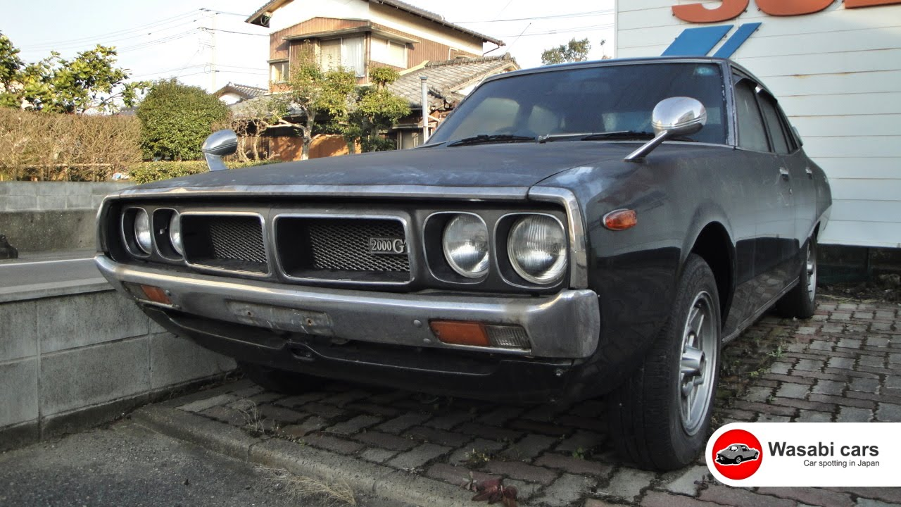 Spotted an abandoned 1976 skyline 2000 gt youtube vanachro Choice Image