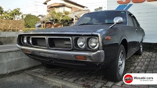 Spotted: An abandoned 1976 Skyline 2000 GT