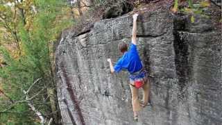 Mono Loco (5.14a) New River Gorge