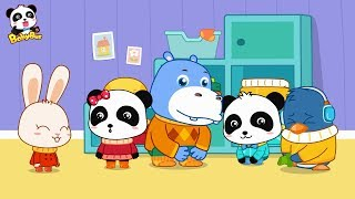 Baby Panda Wears Shoes | Kids Good Habits | Safety Tips for Kids | BabyBus