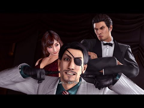 Yakuza Kiwami 2 - Cabaret Club Gameplay