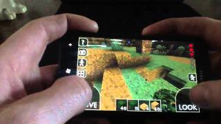Survivalcraft Gameplay #4 Alpha1.7 On The Htc Titan (for Android And Windows Phone)