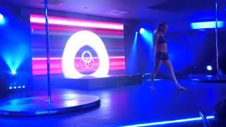 Olga Biserova Blackpool Pole Dance Champion 2013 Amateur winner