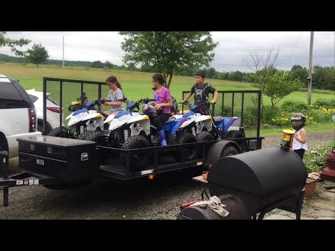 Come Take a ATV Ride with BOTAJELL and the Family