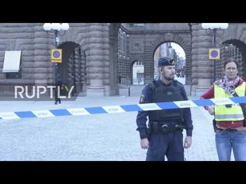 Sweden: Arrest made in Stockholm suburb as centre remains on lockdown