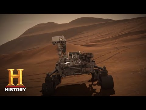 Ancient Aliens: Revealing Details in Rover's Mars Images (Season 11, Episode 2) | History