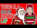 Download Young M.A. Sits on Santa's Lap