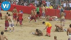 Calcio Storico in Florenz - Eine Mischung aus MMA und Fußball