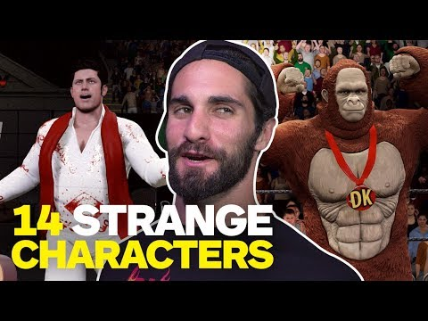 14 Weird Characters WWE Superstars Want in WWE 2K18