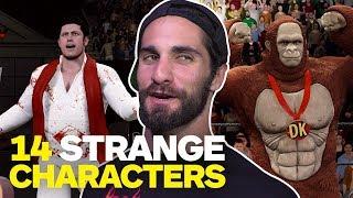 14 Weird Characters WWE Superstars Want in WWE 2K18