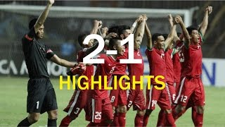 INDONESIA VS THAILAND 2-1 Leg 1 Highlights