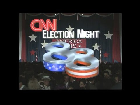 36 years of election nights on CNN