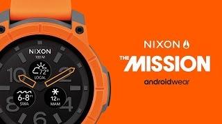 ساعة Nixon Mission الذكية ستكون متاحة للشراء إبتداء من 10 أكتوبر بسعر 400 دولار - إلكتروني