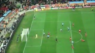 """Lo que nadie vio Uruguay - Ghana """"Mundial Sudafrica 2010"""" ( """"3 Millones"""". Jaime Roos)"""