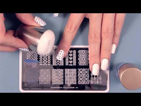 MoYou London Nail Art Stamping Tutorials
