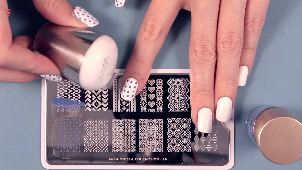 Moyou london nail art stamping tutorials youtube prinsesfo Gallery