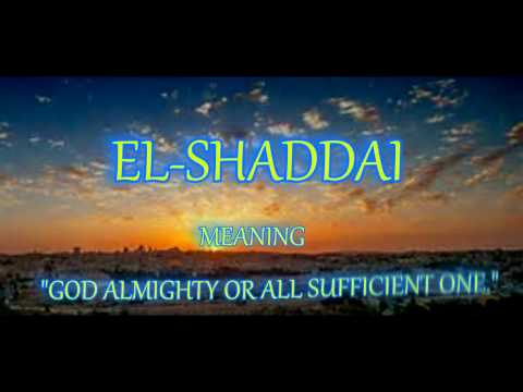 El Shaddai - Michael Card
