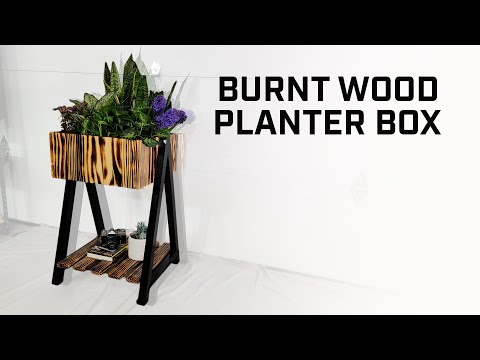 diy-//-modern-burnt-wood-planter-box