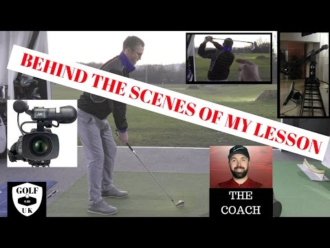 BEHIND THE SCENES OF MY GOLF LESSON WITH RICK SHIELS NUMBER 2