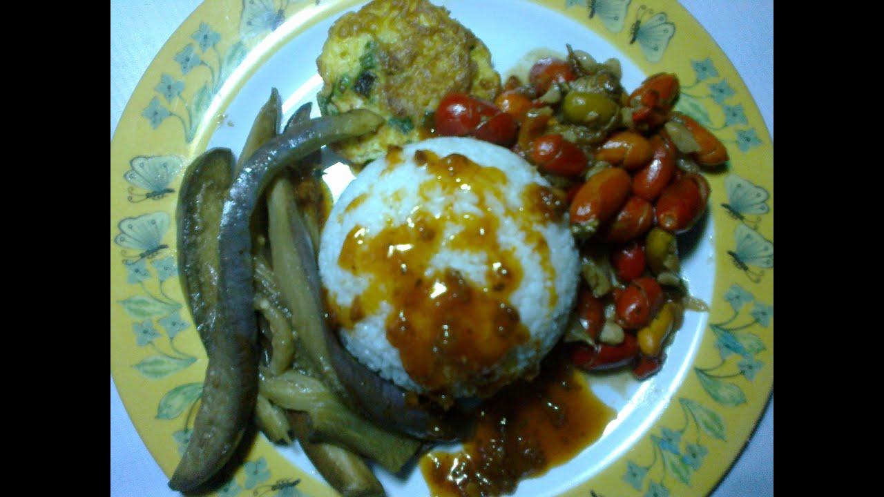 Resep Makan Siang Sederhana Simple Lunch Recipe Youtube