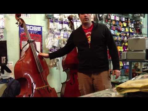 For Beginners | Tips for Choosing your Upright Bass | Mantova's Two Street Music | Buy Basses Now