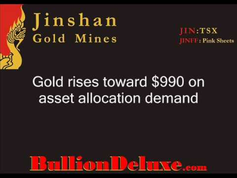 $990 Gold Price Alert, Very Bullish Gold Bullion Market
