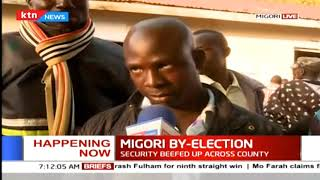 Security beefed up as the Migori by- elections begin
