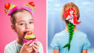 8 CUTE HAIRSTYLES IDEAS FOR GIRLS || Help is on the way by 123 GO! Play