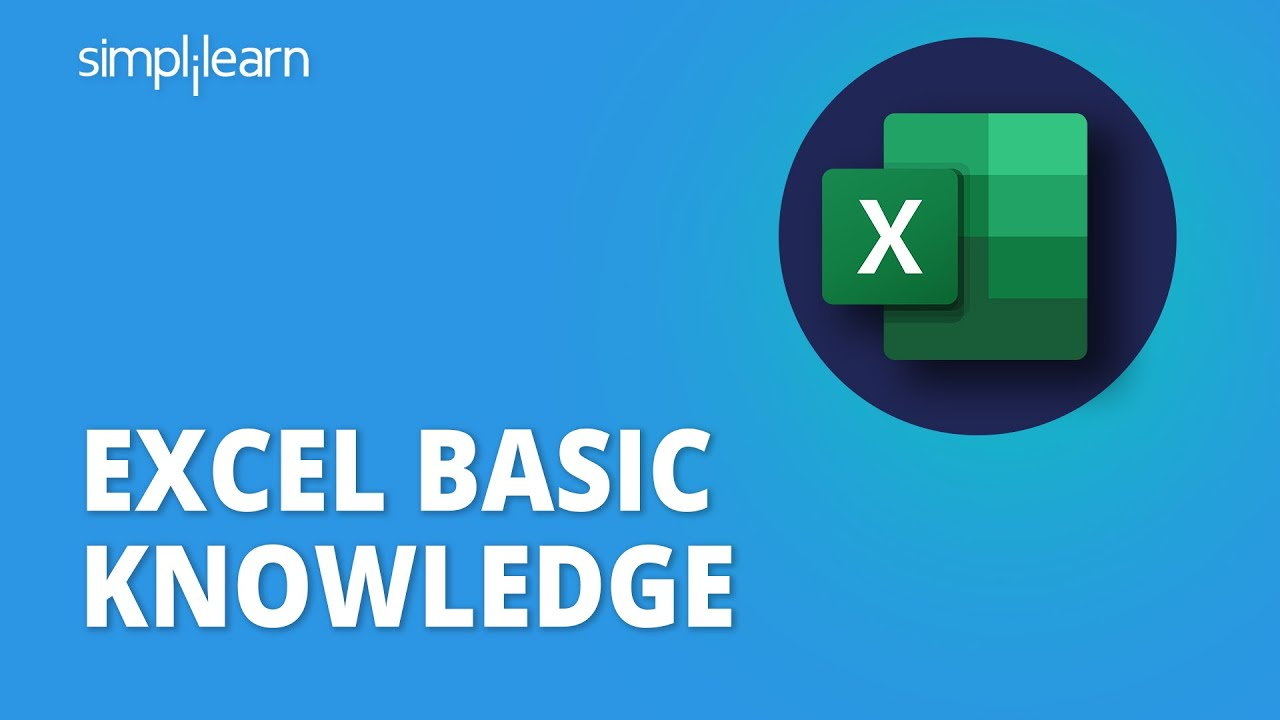 Excel Basic Knowledge | Beginners Guide To Excel | Excel Tutorials For Beginners