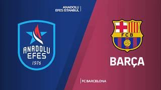 #EuroLeague 1. Hafta: Anadolu Efes - FC Barcelona