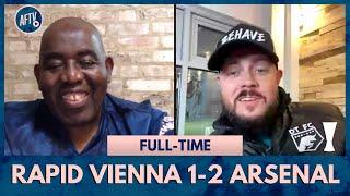Rapid Vienna 1-2 Arsenal | DT's Big Statement - Partey Is The New Vieira!