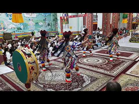Dudjom Dakini Invocation Dance, Ipoh Dudjom New Treasure Dharma Center, Malaysia
