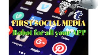 ✅Fan Page Robot 4 ALL your Social Media Marketing App