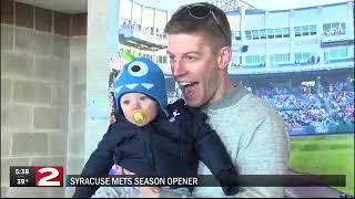 Thousands of fans help Syracuse Mets kick off 2019 season