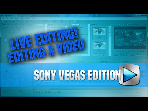 """How To Edit a """"Cut Commentary"""" - Live Editing Sony Vegas Edition"""