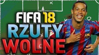 FIFA 18 - Najskuteczniejsze rzuty wolne! - Nauka gry #3